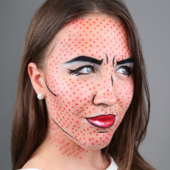 Pop Art Makeup Tutorial