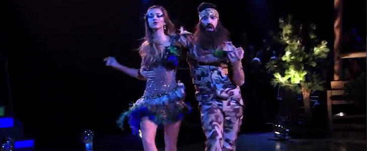 Duck Dynasty's Sadie Dressed Up Like a Duck on Dancing With the Stars