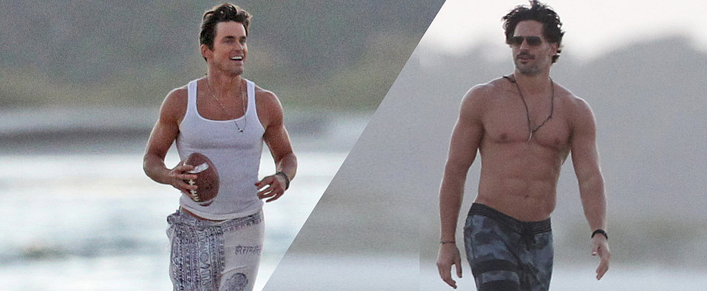 Joe Manganiello's Shirtless, Matt Bomer's in a Sarong, and It's All So Good