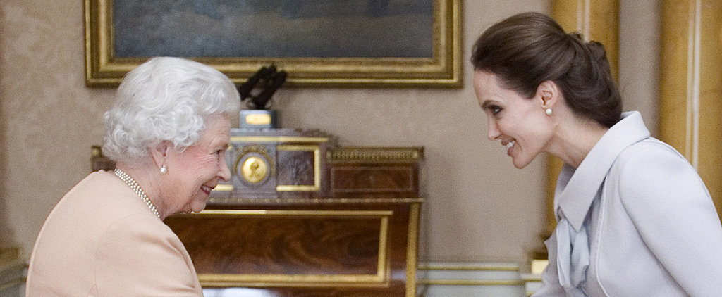 """Dame"" Angelina Jolie Receives an Honorary Title From the Queen"