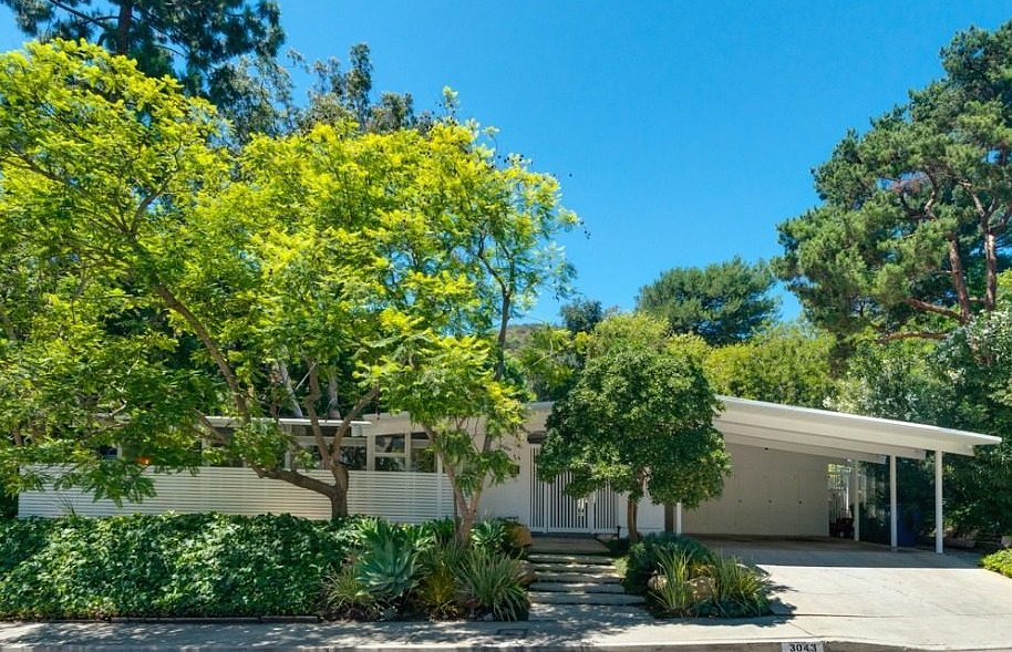 Take a Look at James Marsden's Dreamy Midcentury Modern Home