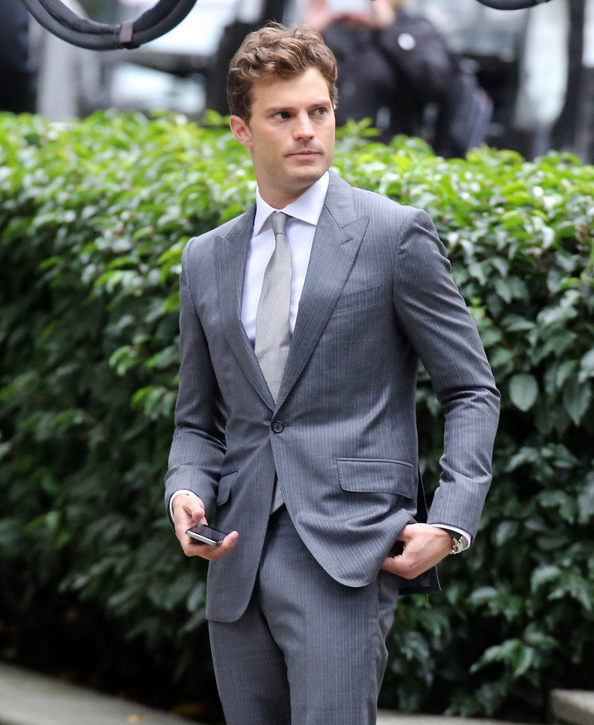 Dornan resurfaced in Vancouver, British Columbia, Canada, for reshoots this week.