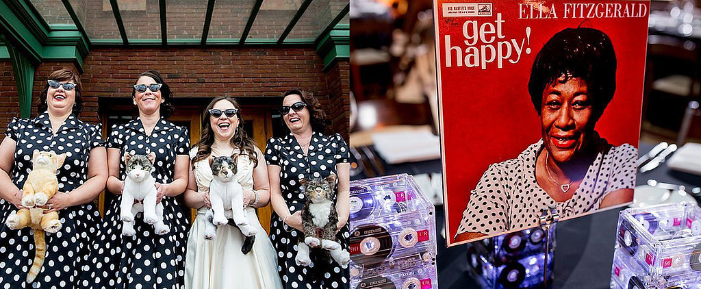 A Fun and Quirky Wedding You Have to See Right Meow