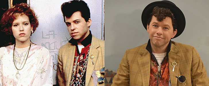 Jon Cryer Dressed as Pretty in Pink's Ducky For Halloween!