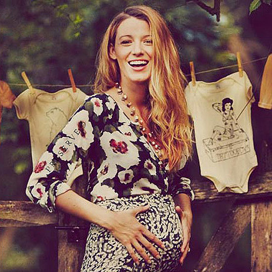 Blake Lively Pregnant Style