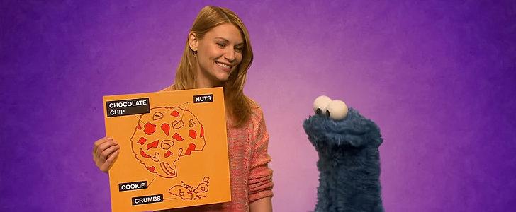 Claire Danes Trades CIA Secrets For Sesame Street