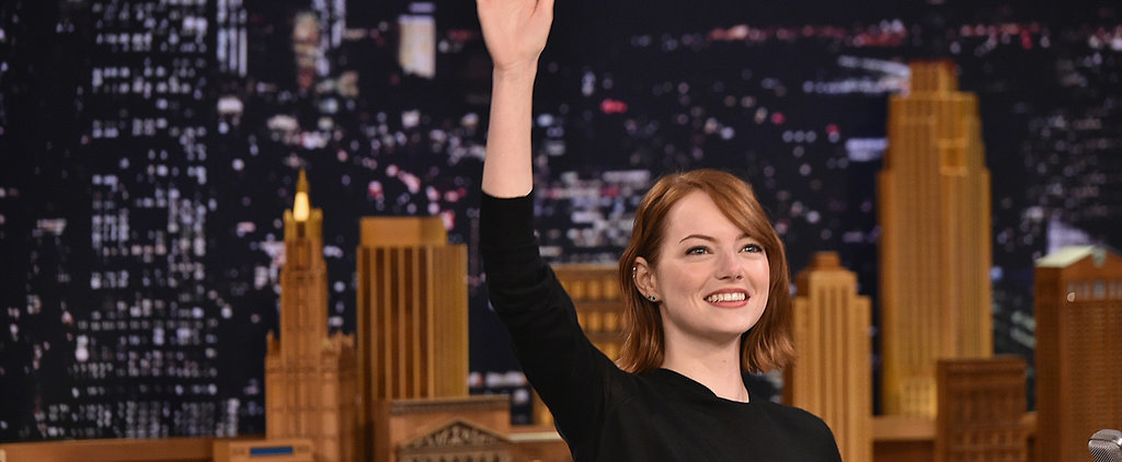 Emma Stone Just Wore a Perfect Fall Skirt That You Can Get For Under $50