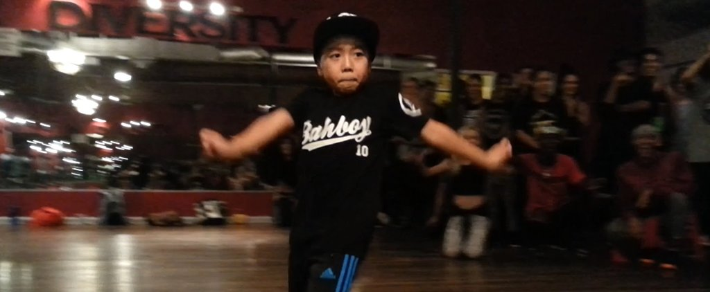 8-Year-Old Boy Absolutely Dominates the Dance Floor