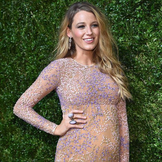 Blake Lively Pregnant on Red Carpet in Michael Kors