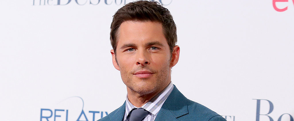 Not Even a Bad Haircut Could Ruin James Marsden's High School Picture
