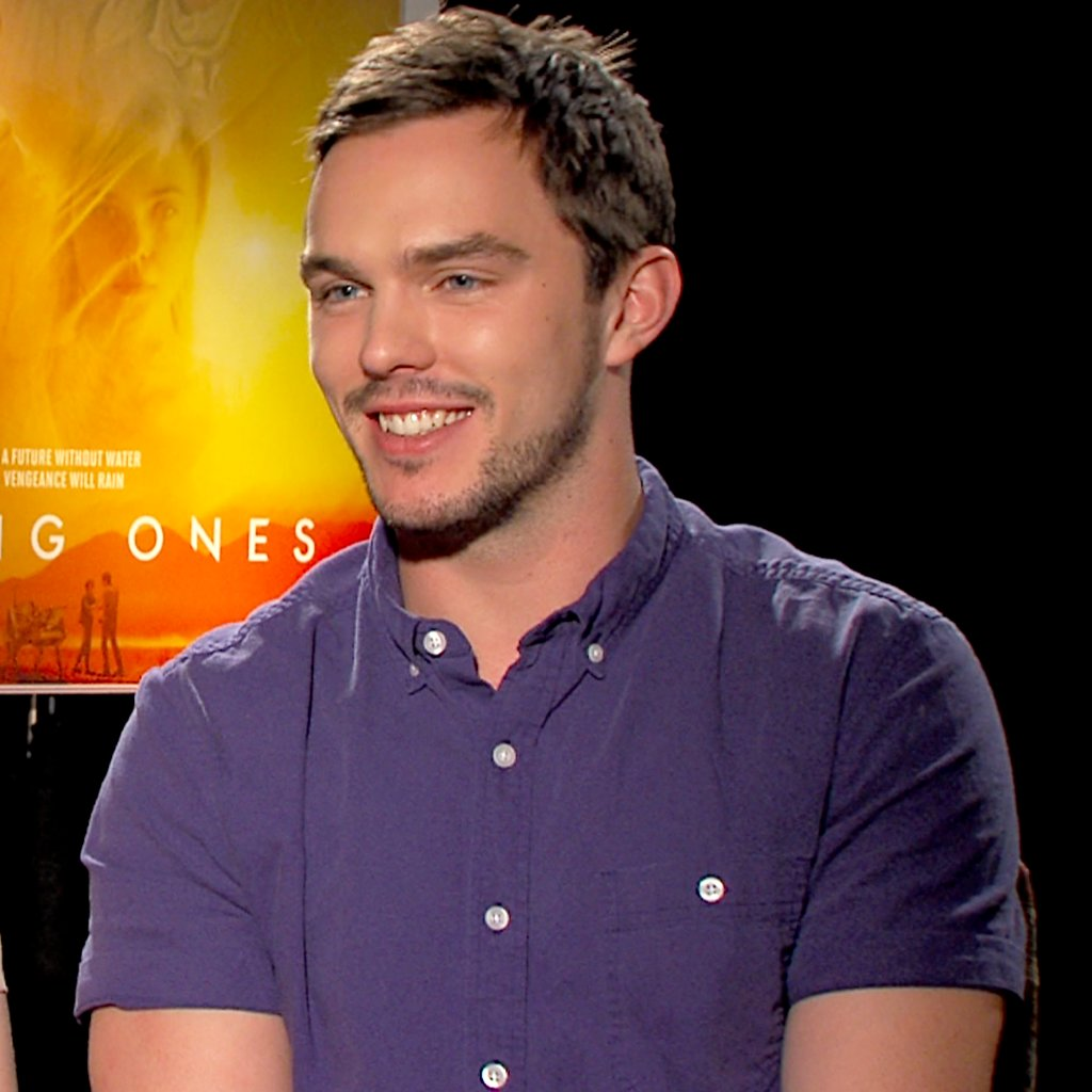 Nicholas Hoult Young Ones Interview Video | POPSUGAR Celebrity