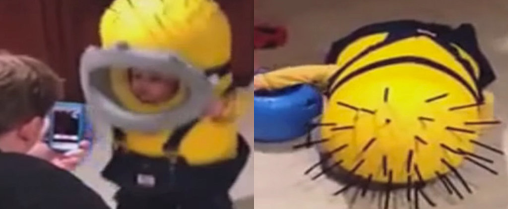 The Tiny Toddler Halloween Costume Fail That You Will Watch on Repeat