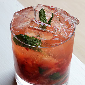 Easy Strawberry-Bourbon Cocktail