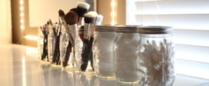 Why Your Makeup Brushes Should Never, Ever Go in a Mason Jar