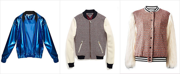 Fight Chilly Fall Temps With a Bold Bomber Jacket