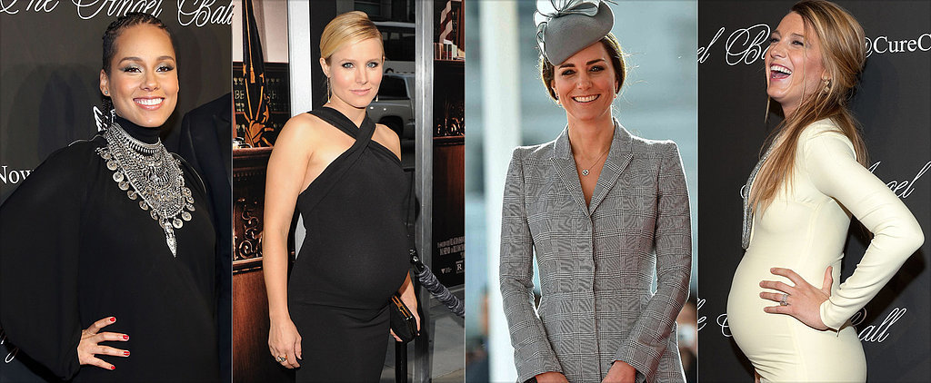 Get Inspired by This Month's Chicest Celeb Moms-to-Be