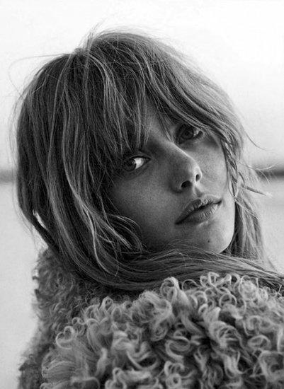 Frida Gustavsson's Boho Chic Spread For Glamour France