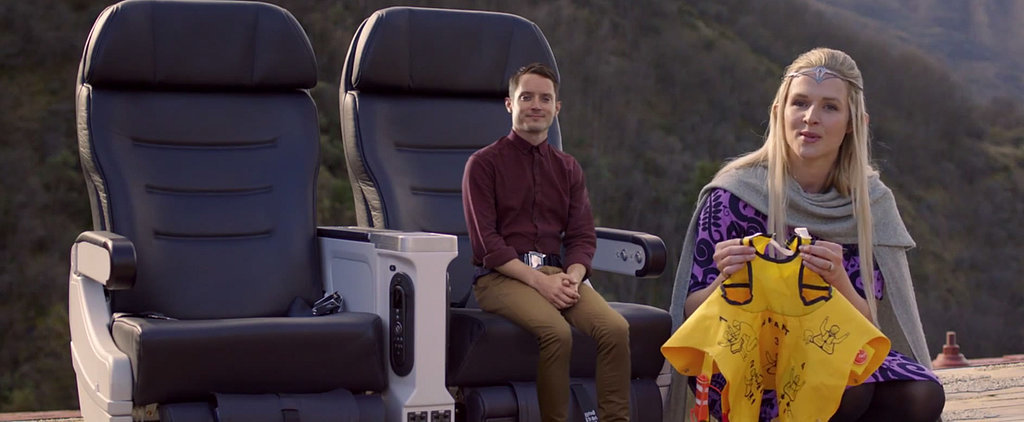Elijah Wood Stars in the Most Epic Airline Safety Video Ever