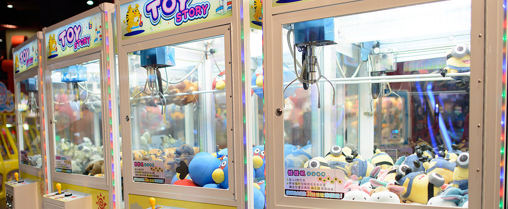 Toddler Crawls His Way Into Claw Toy Machine