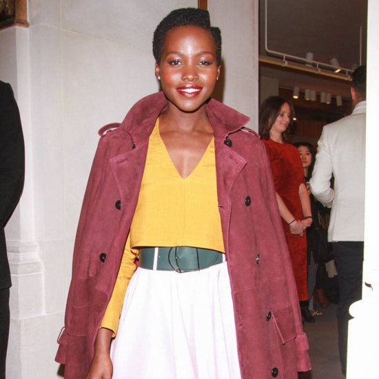Lupita Nyong'o Colorblock Bally Outfit