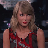 "Taylor Swift ""Out of the Woods"" Performance On Jimmy Kimmel"
