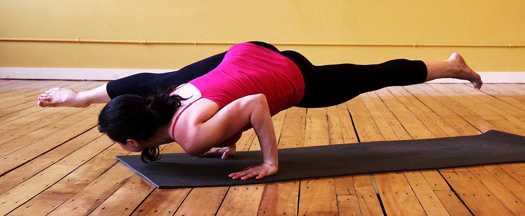 Yoga Takes Flight! Arm-Balancing Split