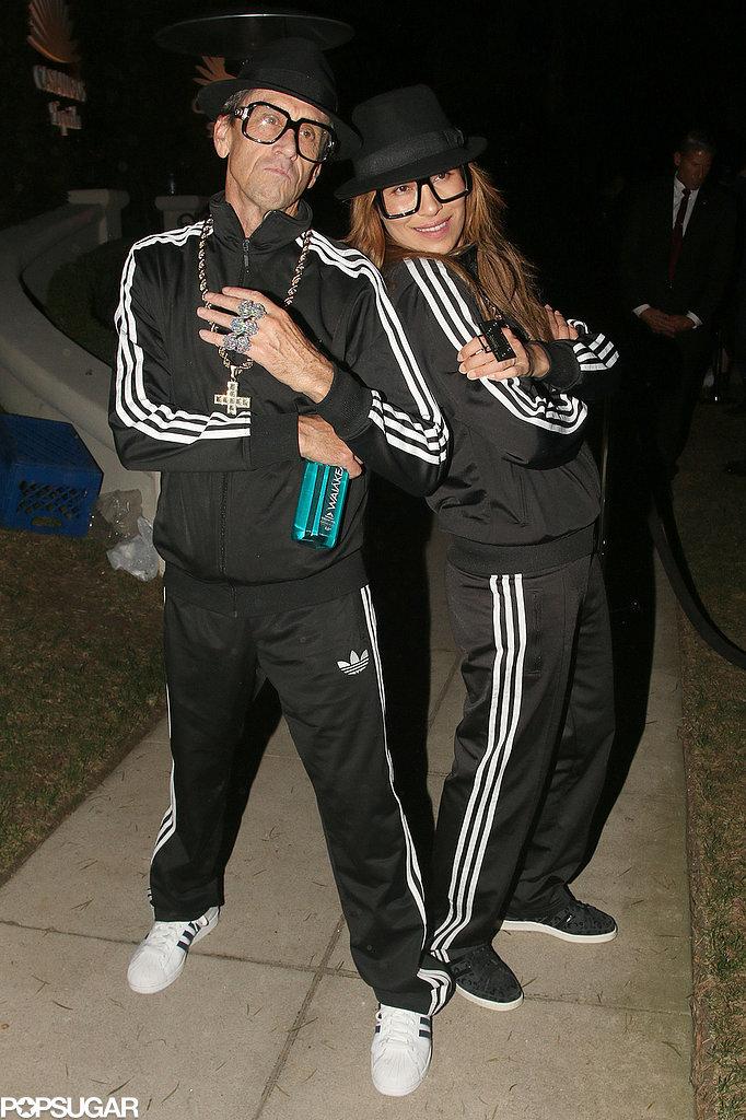 Brian Grazer And Veronica Smiley As Run Dmc 55