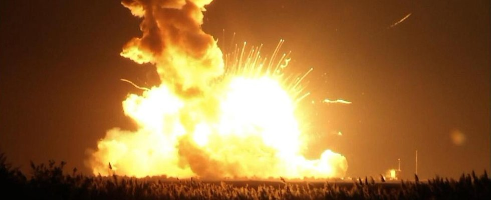 An Unmanned NASA Rocket Exploded During Takeoff