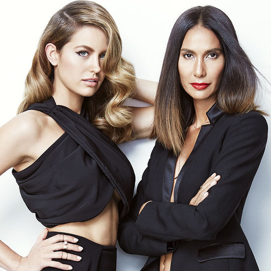 Jesinta Campbell and Lindy Klim Joico Campaign Hair How-to