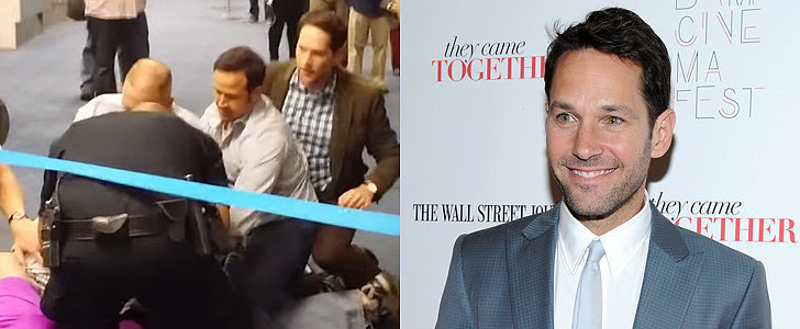 Did Paul Rudd Rescue a Passenger During a Homophobic Attack at an Airport?