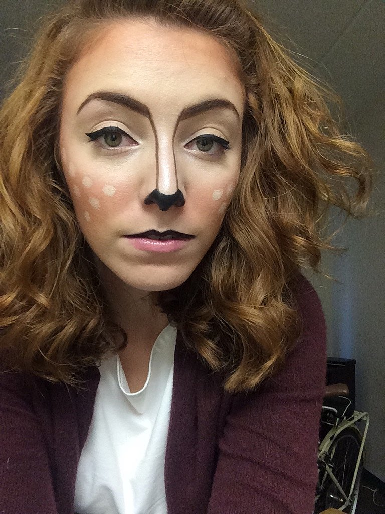 A How To Line Nose Make Using Eyeliner Eyeliner With Costumes Popsugar  You Cool Looking Can