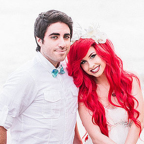Hipster Little Mermaid Wedding