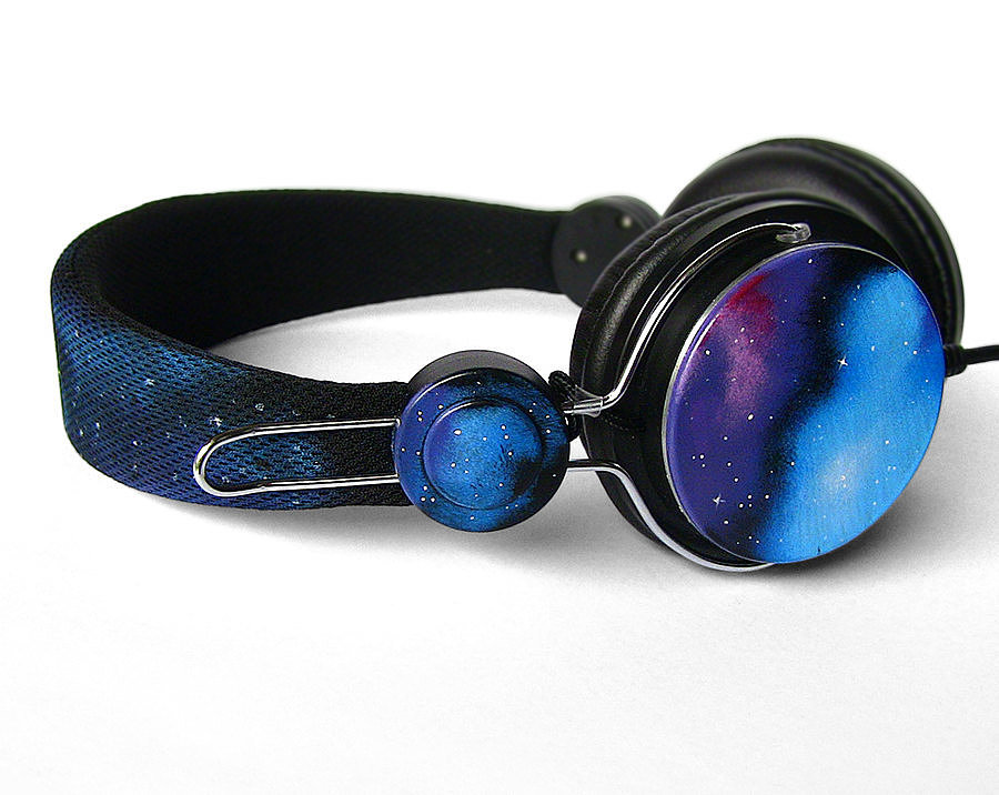 Gift her these hand-painted galaxy earphones ($82), and she'll treasure them — and you — forever.