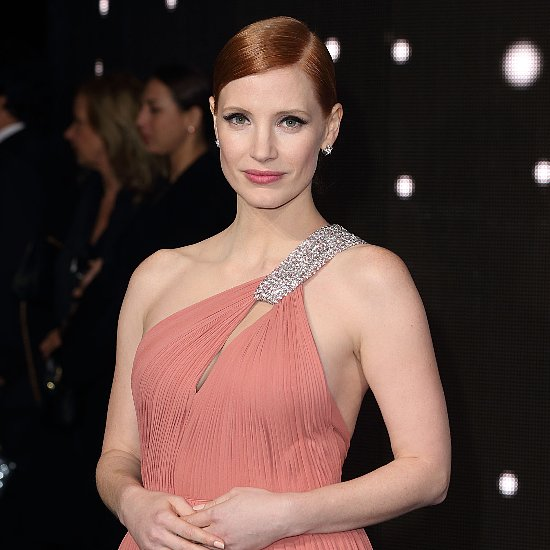 Jessica Chastain Interstellar Premiere Dress