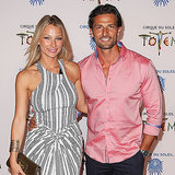 Tim Robards and Anna Heinrich at Cirque du Soleil Totem