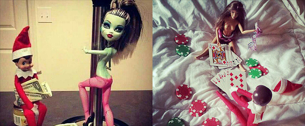 12 Totally Inappropriate Elf on the Shelf Poses