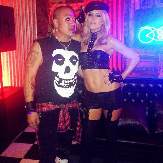 Kate Hudson's Daughters of Anarchy Halloween Costume 2014