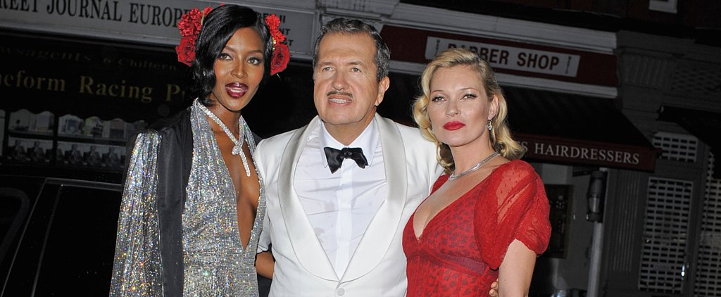 When Mario Testino Throws a Birthday Bash, the Fashion Set Shows Up in Style
