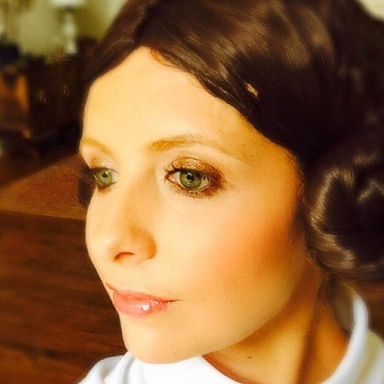 Sarah Michelle Gellar's Princess Leia Halloween Costume