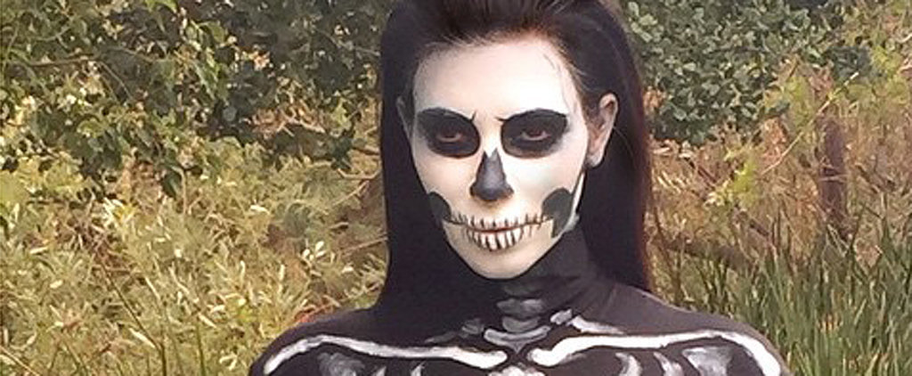 Kim Kardashian Didn't Disappoint With Her Sexy Halloween Costume