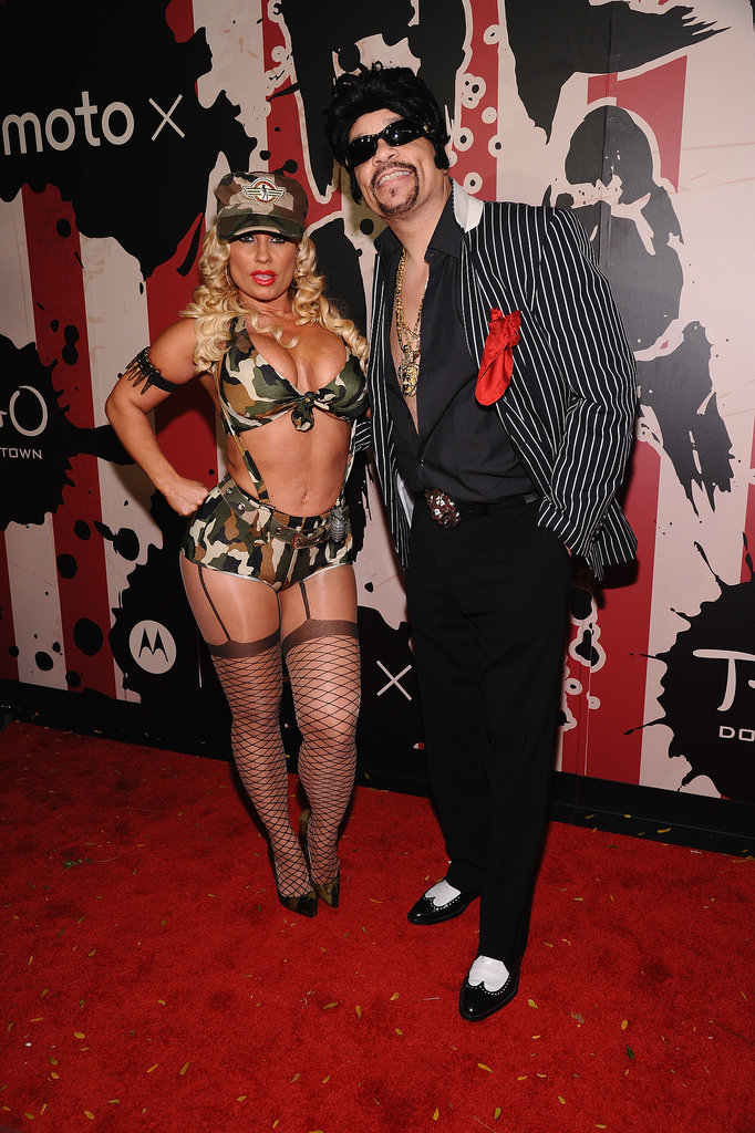 Coco and Ice-T teamed up as a sexy soldier and a gangster in 2014 for Heidi Klum's Halloween party in NYC.