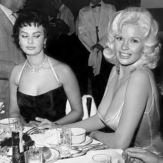 From EW: Sophia Loren Explains That Infamous Side Eye Photo with Jayne Mansfield