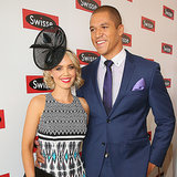 Blake Garvey and Louise Pillidge at 2014 Melbourne Cup