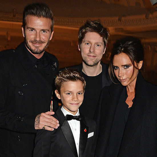 Romeo Beckham at Burberry Festive Campaign Launch | Photos