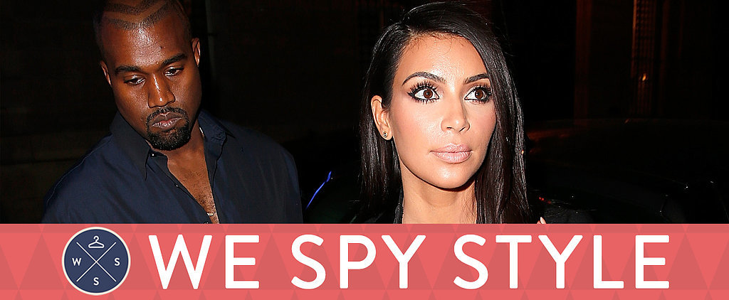 We Spy: Kim Kardashian's Shopping Spree at . . . Gap?