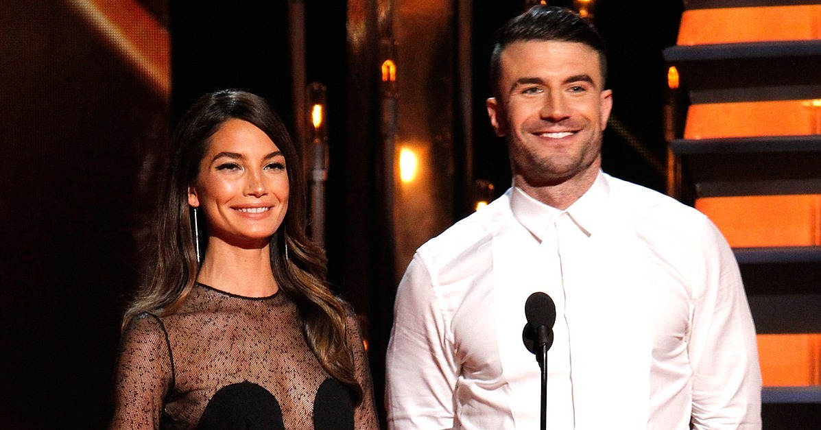 Lily aldridge and sam hunt at the cma awards 2014 pictures