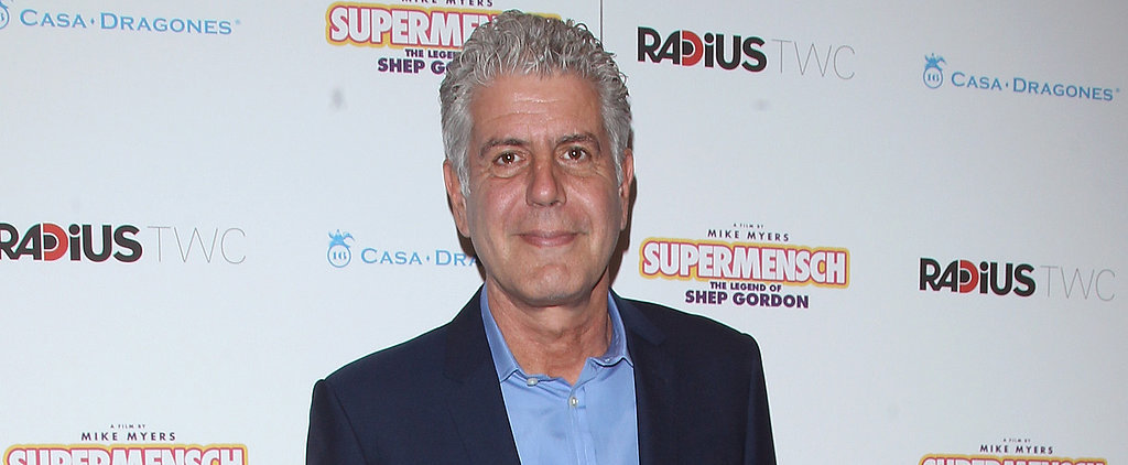 A First Look at Anthony Bourdain as a Cartoon Character