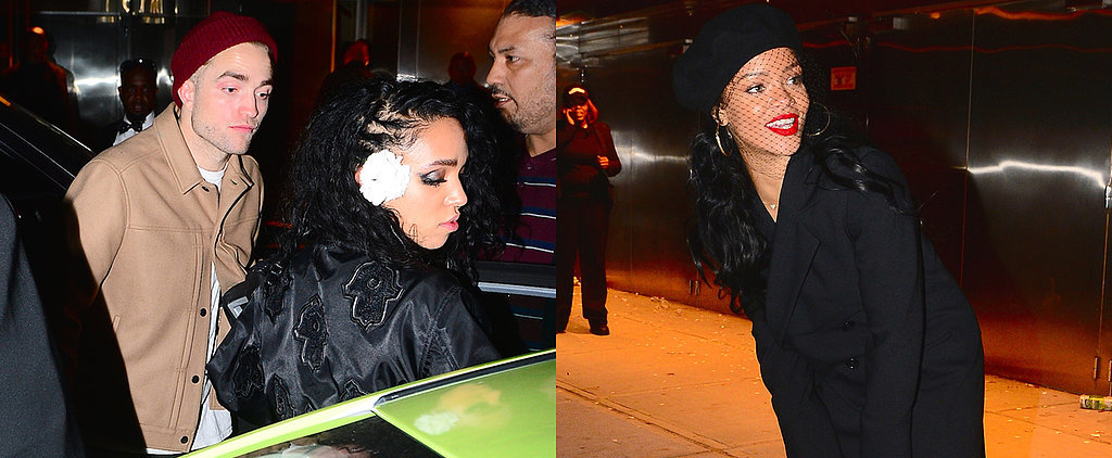 Robert Pattinson and FKA Twigs Party the Night Away With Rihanna