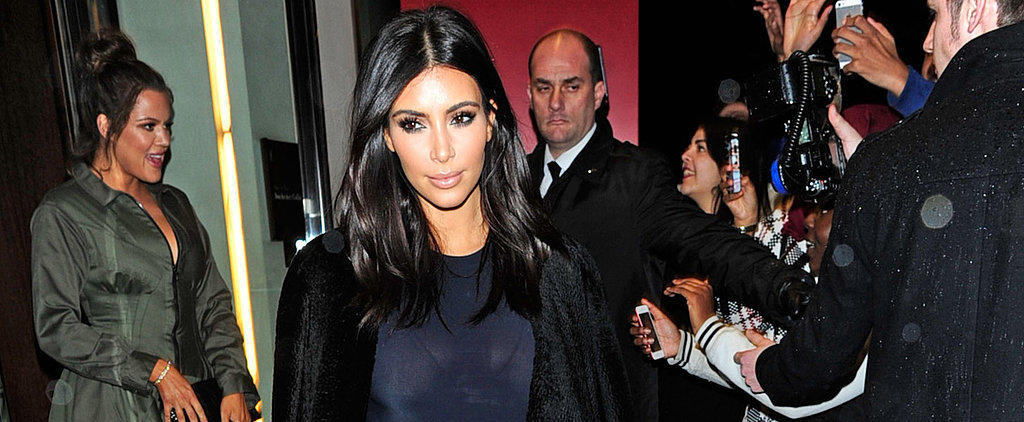 Is Kim Kardashian's See-Through Skirt Really All That Shocking?