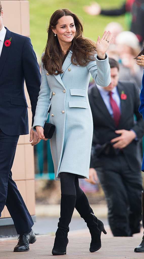 Kate Middleton's Outerwear Style
